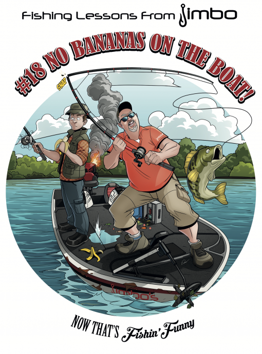 fishin funny lesson #18 cartoon